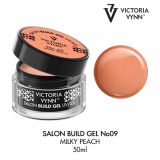 Build Gel Milky Peach 09   50ml