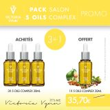Pack Huile 5 Oils Complex VV 30ml 3+1 Offerte