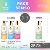 Pack Senso Hand and Body Cream 250 ml 3+1 offert