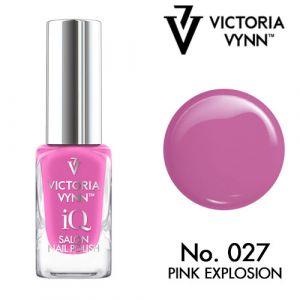 iQ Nail Polish N°27 Pink Explosion