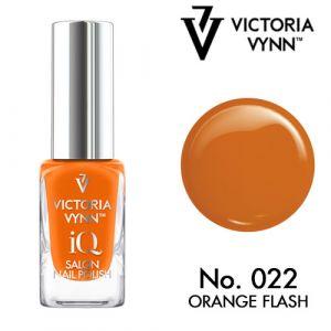 iQ Nail Polish N°22 Orange Flash