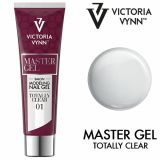 Master Gel Totally Clear 1 VV 60g