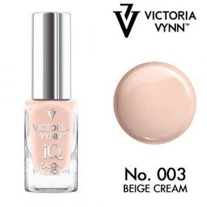 iQ Nail Polish N°3 Beige Cream