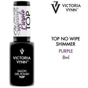 Top No Wipe Shimmer Purple