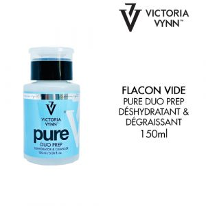 Flacon vide Pure Duo Prep Dehydrator et Cleanser VV 150ml