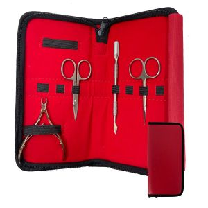 Trousse Rangements Outils Manucure Red