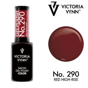 Gel Polish 290 Red High-Rise