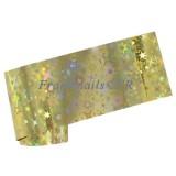Transfer Foil 124 Gold Starbust