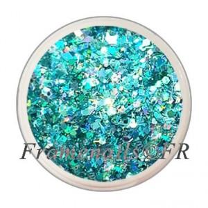 Mix Bling Bling Turquoise N°15