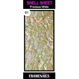 Shell Sheet no1 Precious White