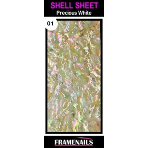 Shell Sheet no1 Precious White