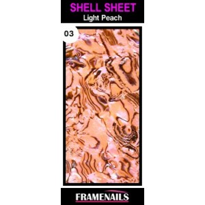 Shell Sheet no3 Light Peach