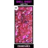 Shell Sheet no4 Light Pink