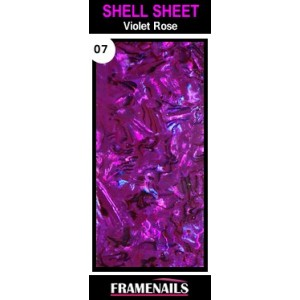 Shell Sheet no7 Violet Rose