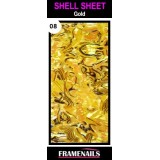 Shell Sheet no8 Gold