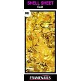 Shell Sheet no8 Gold