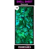 Shell Sheet no10 Emeraude