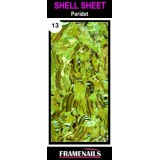 Shell Sheet no13 Peridot