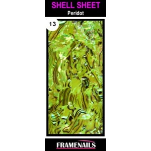 Shell Sheet no13 Peridot