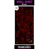 Shell Sheet no15 Brown