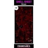 Shell Sheet no15 Brown
