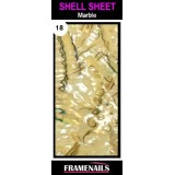 Shell Sheet no18 Marble