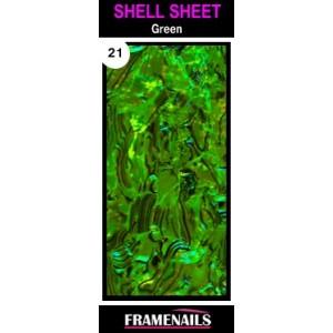 Shell Sheet no21 Green