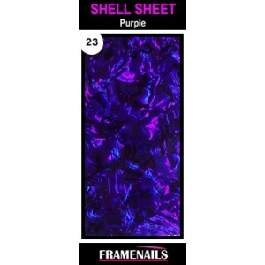 Shell Sheet no23 Purple