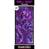 Shell Sheet no25 Tanzanite