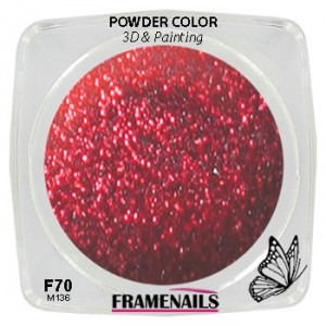 Acrylic Powder Color F70 (3,5gr)