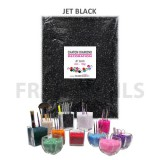 Chatons Diamond Déco Jet Black (160gr)