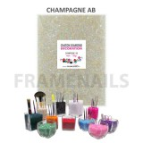 Chatons Diamond Déco Champagne (160gr)