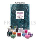 Chatons Diamond Déco Turquoise (160gr)