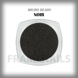 Micro Beads Noir
