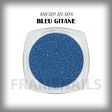 Micro Beads Bleu Gitane