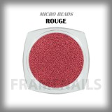 Micro Beads Rouge