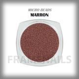Micro Beads Marron