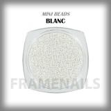 Micro Billes Blanc Mat 5gr