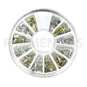 Carrousel N°37 Metallic Studs (120pcs)