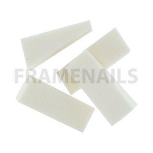 Eponge Latex White (6pcs)