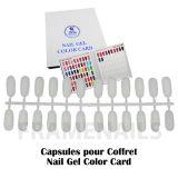 Nail Gel Color Card 120 Tips