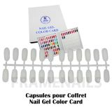 Nail Gel Color Card 120 Tips