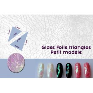 Glass Foils triangles - Petit modèle