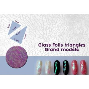Glass Foils triangles - Grand modèle