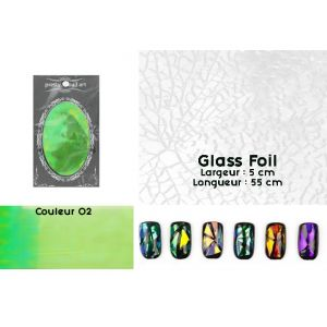 Glass Foil couleur 02