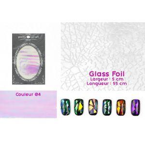 Glass Foil couleur 04