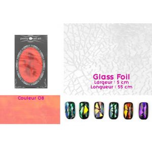 Glass Foil couleur 08