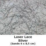 Laser Lace Silver (6x8,5cm)