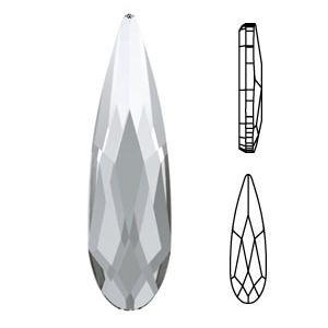 Raindrop 2304 Crystal 6.00-1.70mm (10pcs)