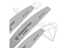 Limes Diamond Files Half Moon